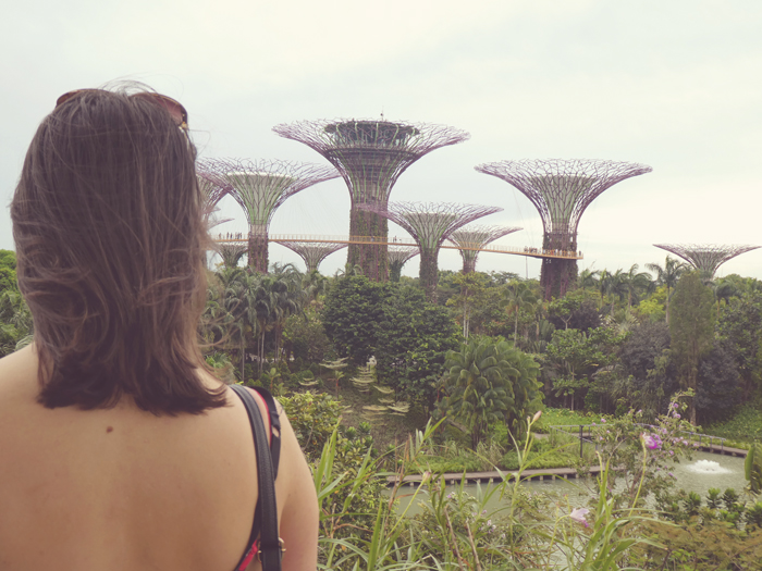 View of Gardens By The Bay's Supertree Grove | Gluten Free Horizons