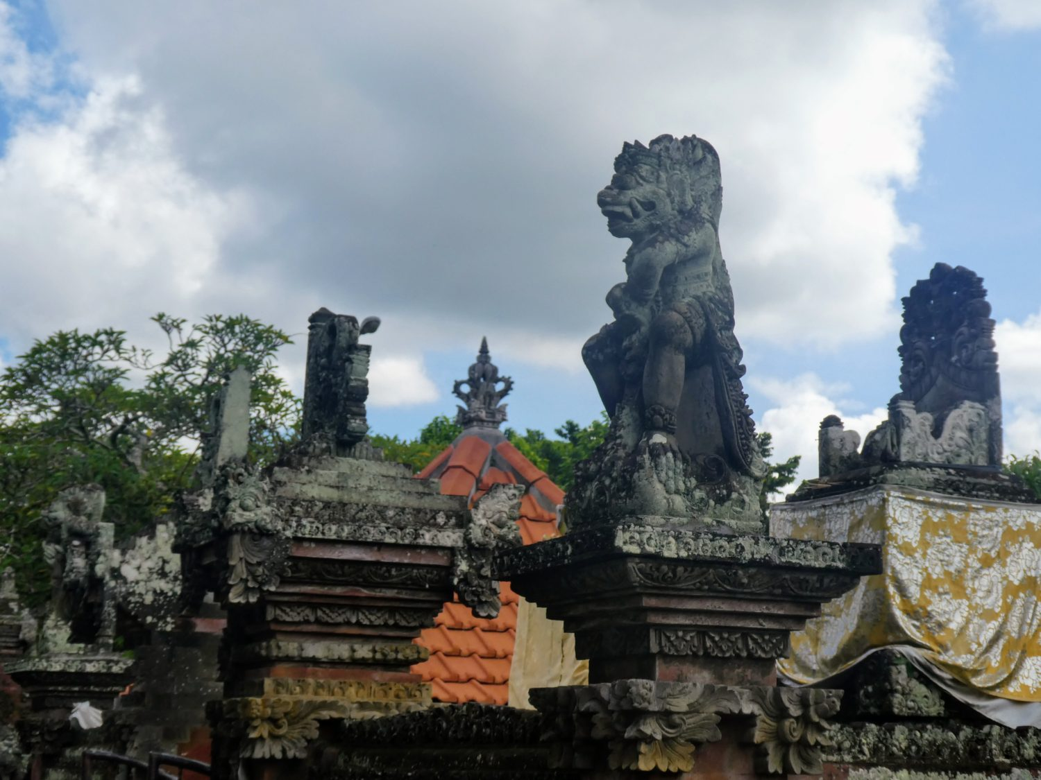 Temple Statues | Photo Diary: Our Day in Bali | Gluten Free Horizons
