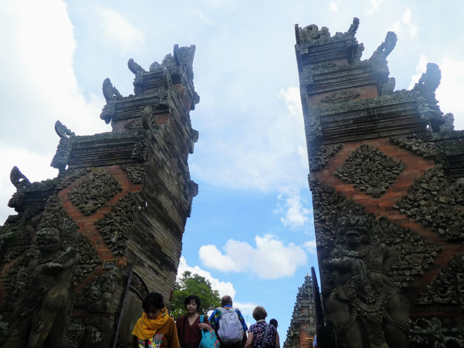 Temple Gateway | Photo Diary: Our Day in Bali | Gluten Free Horizons