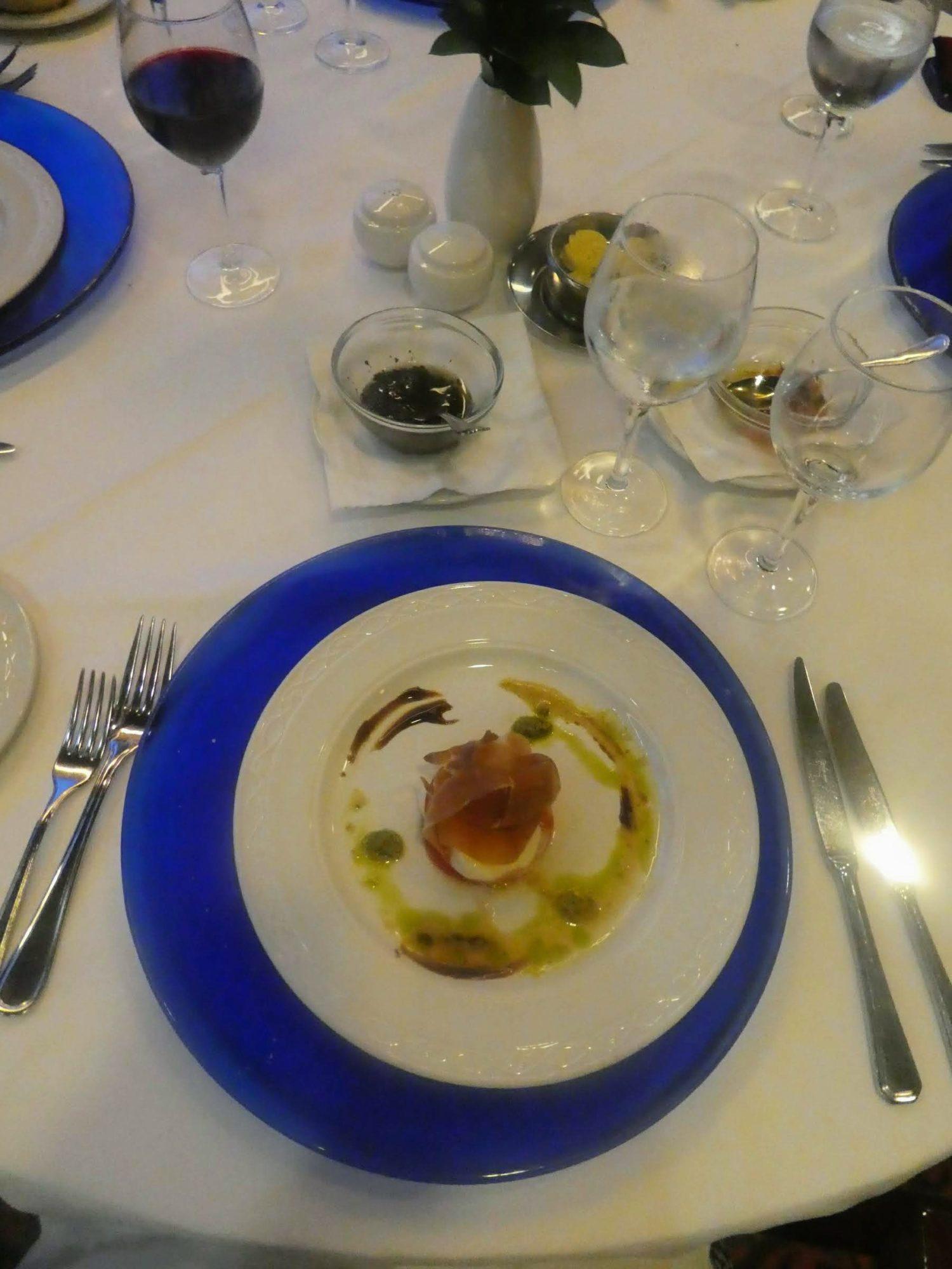 Eating Gluten Free on Marella Cruises - Sirocco's caprese salad