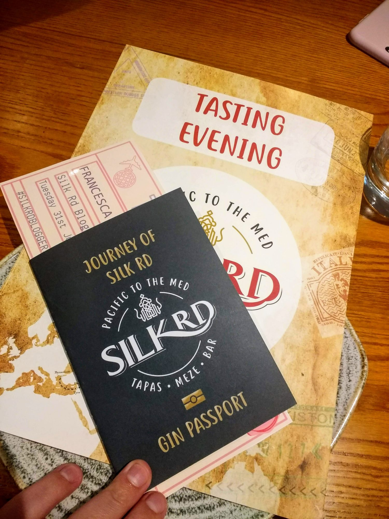 Gluten Free Tapas at Silk Rd Liverpool | Gin Passport & menu