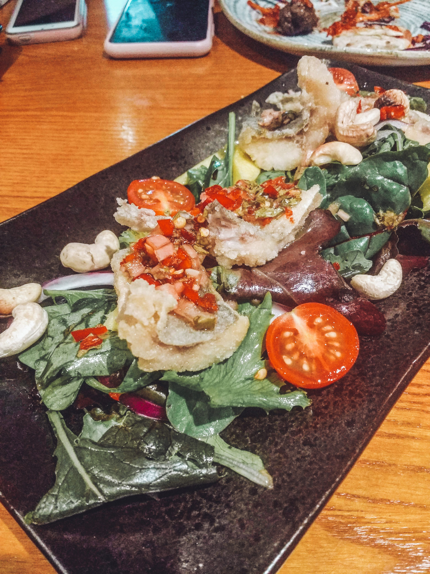 Silk Rd - Gluten Free Liverpool - Seabass Salad