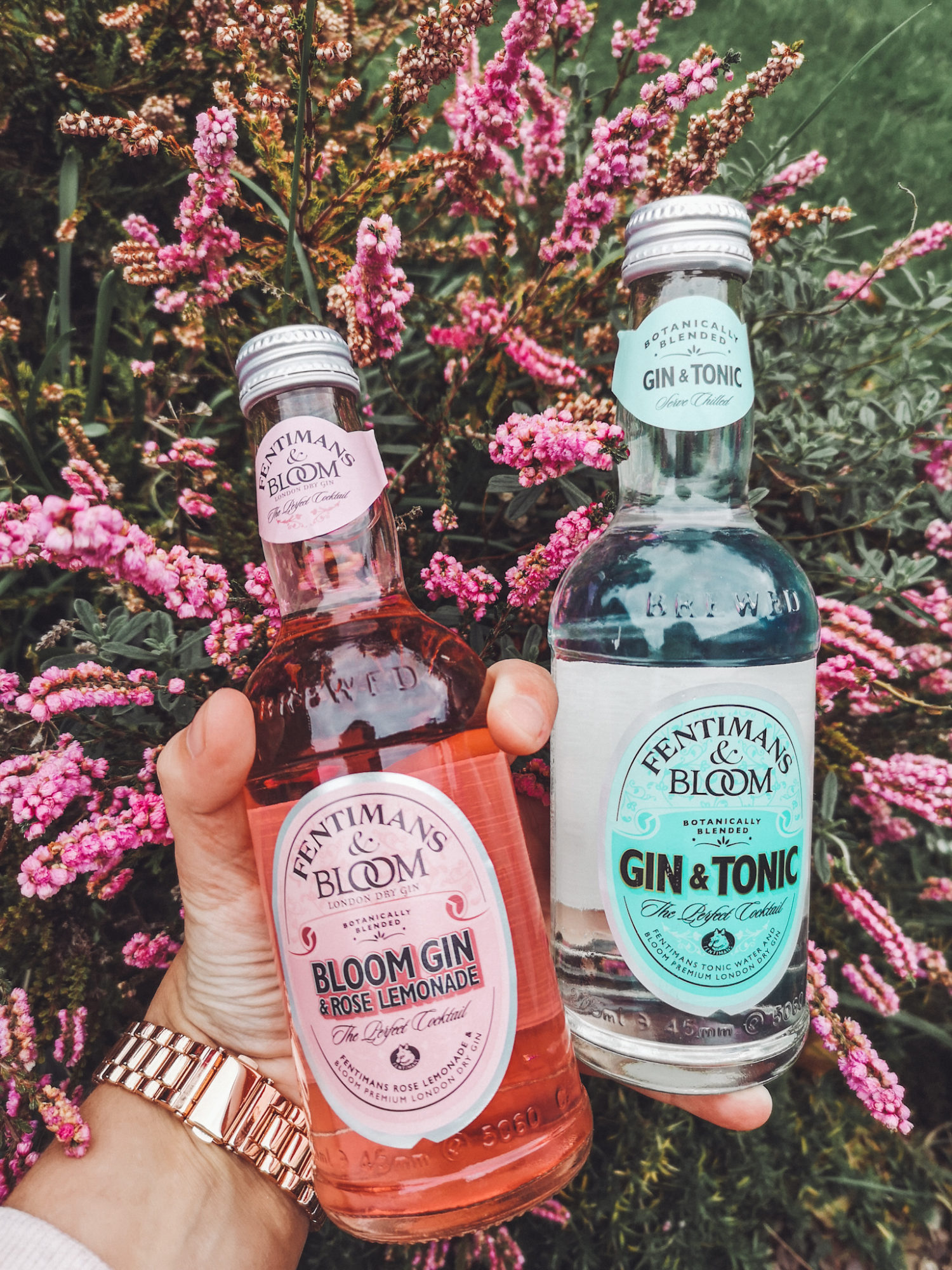 gluten free bloom gin with fentimans tonic