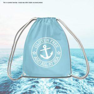 Gluten Free And All At Sea - Drawstring Bag