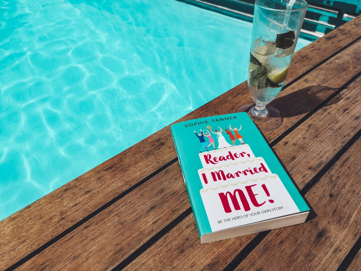 Reader I Married Me is the ultimate feel good summer read, whether you believe in Sologamy or not!